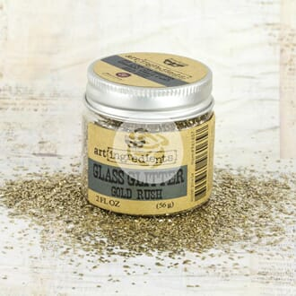 Prima: Gold Rush - Art Ingredients Glass Glitter