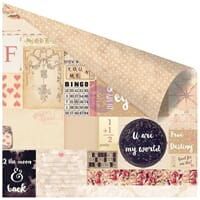 Prima: To The Moon & Back - Love Clippings Foiled