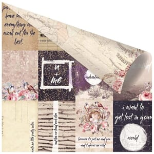 Prima: Pretty Little Notes - Wild & Free Foiled