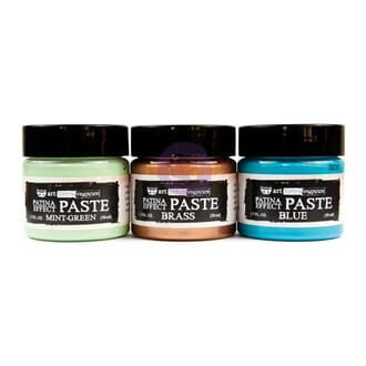 Prima: Finnabair Art Extravagance Patina Effect Paste Set