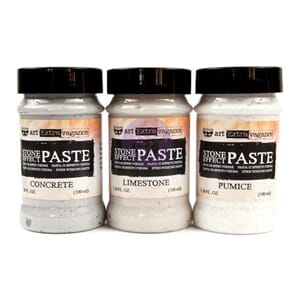 Prima: Finnabair Art Extravagance Stone Effect Paste Set