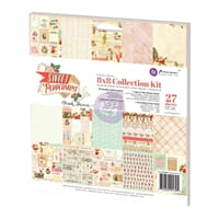 Prima: Sweet Peppermint Collection Kit, 8x8 inch