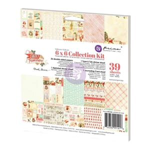 Prima: Sweet Peppermint - Collection Kit, 6x6 inch