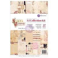 Prima: Love Clippings Collection Kit, str A4