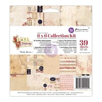 Prima: Love Clippings Collection Kit, 6x6