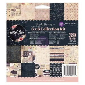 Prima: Frank Garcia Wild & Free Collection, 6x6, 39/Pkg