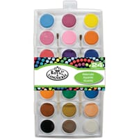 Royal Brush - Watercolor Cake Set, 21 farger