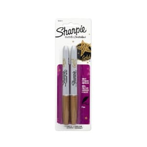 Sanford: Gold - Sharpie Metallic Markers, 2/Pkg