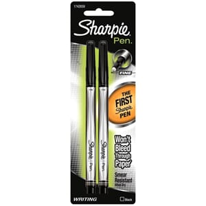 Sanford: Black - Sharpie Writing Pens Fine Point