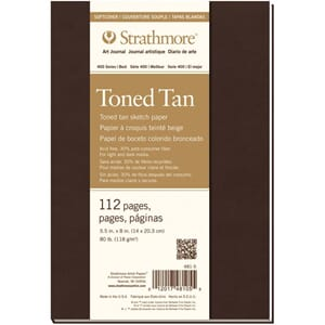 Strathmore: Toned Tan Sketch Softcover Journal, 14x20.3 cm