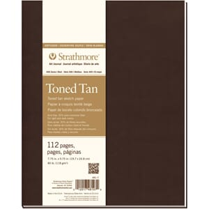 Strathmore: Toned Tan Sketch Softcover Journal, 20x25 cm