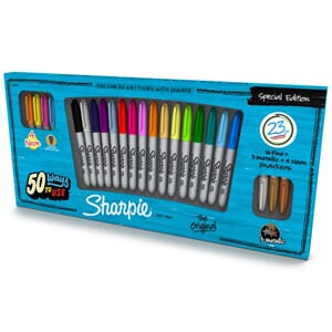 Sharpie: Fine Point Permanent Markers 23/Pkg