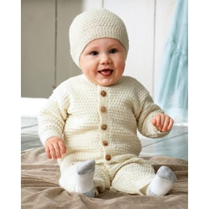 Svarta Fåret - Baby Merino Dress Strikkeoppskrift