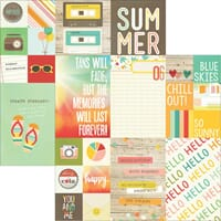 Simple Stories: 2x2 & 4x6  - Summer Vibes