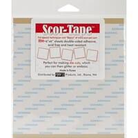 Scor-Tape Sheets 6x6 inch, 5 stk
