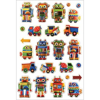 Multicraft: Toys For Boys - Foil Fun Stickers