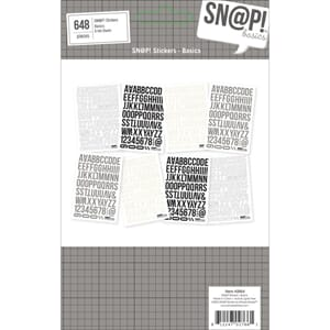 Simple Stories: Sn@p! Stickers Sheets 8/Pkg