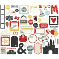 Simple Stories: Say Cheese III Bits & Pieces Die-Cuts 53/Pkg