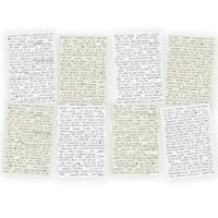 Simple Stories: Posh Word Labels Quote Stickers, 8/Pkg