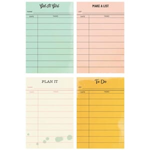 Simple Stories: Reset Girl Sticky Notes, 4 design