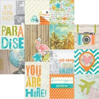 Simple Stories: 4x4 & 4x6 Journaling Cards - You Are Here