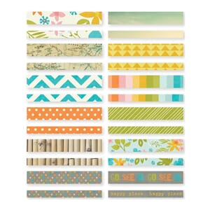 Simple Stories: You are Here! Washi Paper Tape, 24/Pkg