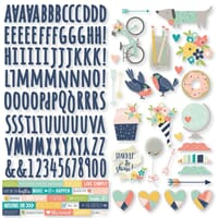 Simple Stories: Posh Combo Cardstock Stickers