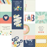 Simple Stories: 4X4 & 4X6 Journaling Cards - Posh