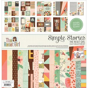 Simple Stories: The Reset Girl Collection Cardstock Kit