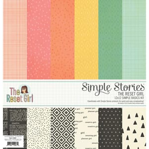 Simple Stories: The Reset Girl Simple Basics Cardstock Kit
