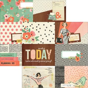 Simple Stories: 4X6 Horizontal Journaling Cards - The Reset