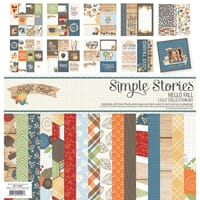 Simple Stories: Hello Fall Collection Kit, 12x12