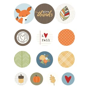 Simple Stories: Hello Fall - Adhesive Bradz 13/Pkg