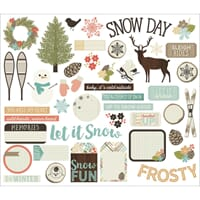 Simple Stories: Winter Wonderland Bits & Pieces Die-Cuts