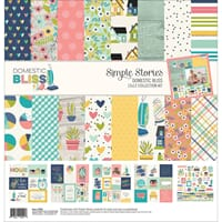 Simple Stories: Domestic Bliss Collection Kit, 12x12