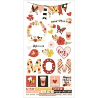 Simple Stories: Mother's Day Cardstock Stickers, 6x12