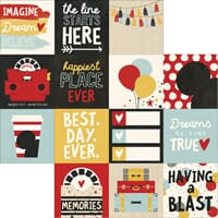 Simple Stories: 4x4 Journaling Cards - Say Cheese III