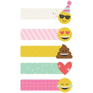 Carpe Diem Emoji Love Page Flags