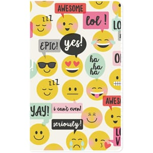 Carpe Diem Emoji Love Doc-It Journal 24 Pages