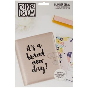 Carpe Diem: Brand New Day - Large Planner Decals