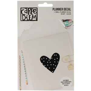 Carpe Diem: Heart - Small Planner Decals