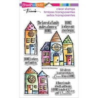 Stampendous: Family Home - Perfectly Clear Stamps