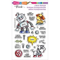 Stampendous: Screwloose N Sparky - Clear Stamps 4x6