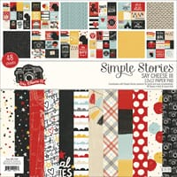 Simple Stories: Say Cheese III Paper Pad, 12x12, 48/Pkg