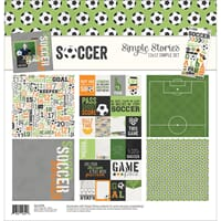 Simple Stories: Soccer Simple Sets Collection Kit, 12x12