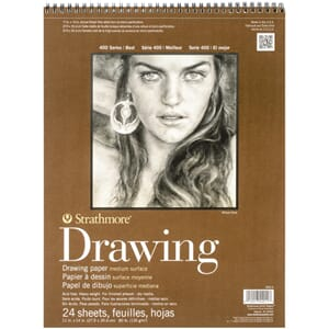 Strathmore: Medium Drawing Spiral Paper Pad 11x14 inch