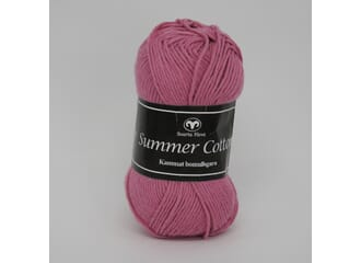Svarta Fåret: Rosa - Summer Cotton, 50 gram