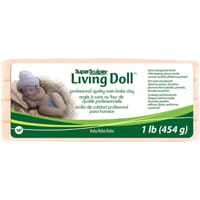 Sculpey - Beige Super Sculpey Living Doll Clay, 1lb