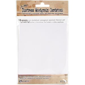 Tim Holtz: Distress Cardstock 12 Sheets, 4.25x5.5 inch