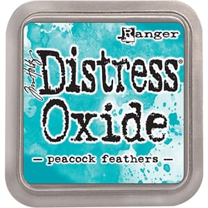 Tim Holtz: Peacock Feather - Distress Oxides Ink Pad
